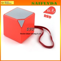 Mini Well-know Bluetooth Speaker Square Audio Box Protable Speakers 5 Colors