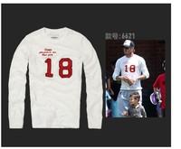 Good quality Plus size 6XL biggie Backham white 18 emboirdery print  men sweatshirt homme  fashion mens brand pullover