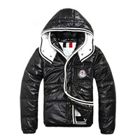 Male 2012 winter fashionable casual hood with a ribbon down  Women and men Thermal Wadded Jacket Cotton-padded coat Winter Slim
