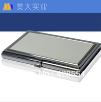 sublimation blank name card holder/business card holder heat press metal name card case heat transfer coated metal