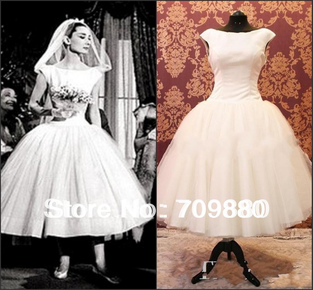 Retro Short Wedding Dress Promotion Online Shopping For Promotional Retro Short Wedding Dress On