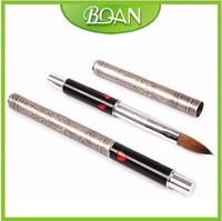Acrylic Nail Art Oval Kolinsky Acrylic Nail Brush Best Nail Art Brush #14 Free shipping 5 Pcs