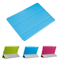 New Arrival Tri-Fold Slim PU Leather Case For iPad Mini Smart Flip Cover With Sleep Wake Stand Fuction YXF03708
