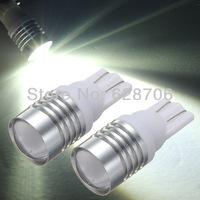 2pcs T10 W5W 7W LED Cree Q5 Wedge Car Reverse Backup Light Lamp Bulb DC12V White