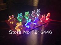 Cute Rabbit Shape Card Light 50PCS Bulk Sell/Factory Direct Selling Mini Led Light/Convenient Carry Pocket Light Multifunctional