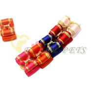 8 PCS Drop Shipping Wholesale Bows Ribbon Hair Bow Dog Barrette Pet Clip Mix Design Hairband Pet Pretty V1038