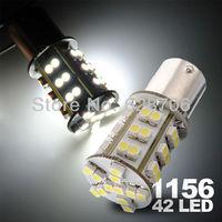 10x Car Auto 1156 BA15S 42 SMD 1210 LED Turn Side Brake Light Lamp Bulb 12V White