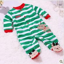 Unisex Baby boy girl bodysuit clothing male rompers autumn winter  cotton newborn 0-3 month(China (Mainland))