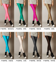 New Arrival Fashion 2014 Spring Women Fluorescent Leggings Candy Tight Legging Free Shipping