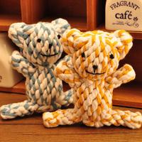 Free Shipping Pet toy pet dog toys animal cotton rope toy single