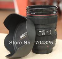 2013 New style Caniam SLR Camera Lens Cup  Plastic Coffee MUG 400ML Creative Collectors