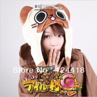 2014NEW Style  Free Shipping Anime Monster Hunter  Cosplay Cap Accessories retinue cat  Hats Costumes