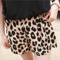Short Com Estampa de Leopardo Celebrity Style Bermudas Sexy Leopard Animal Print Loose Shorts Hotpants Summer Pantalones Cortos