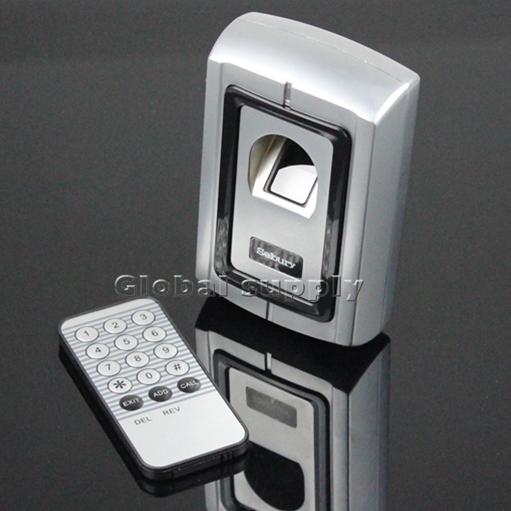 Fernbedienung fingerabdruck 125 khz rfid-id-kartenleser zwei in einem türschloss zugang controller-kits f007em-ii