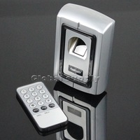 Remote Control Fingerprint 125KHz RFID ID Card Reader Two In One Door Lock Access Controller Kit F007EM-II