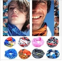 Cycling Supplies Headwear Men/Women Cycling head wear cap Sport magic scarf 50pcs/lot Free Shipping