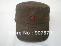 Free shipping  New Military Flat  Classic Men/Women Flat Adjustable Hat Cap V1F