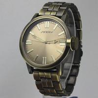 Brand SINOBI 9471 Vintage mans Quartz Analog Watch 4 colors for choosing