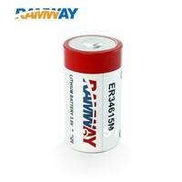 D cell battery primary battery ER34615M battery spiral battery