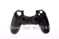 Free shipping Silicone Soft Case Cover for Sony PlayStation 4 PS4 Controller  Black