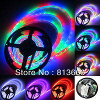 free shipping 5M 5050 RGB Dream Color Horse Race LED Strip 33 Change 54led/M & Remote Control