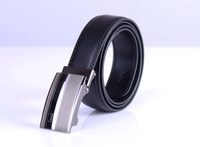 Free shipping 1PCS Mens Genuine Leather Automatic Buckle Belt Classic Waistband #24042