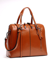 2014 New Women Genuine Leather handbag Designer messenger bag Women leather handbag lady totes shoulder bag 1399