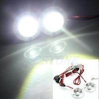 D19+Car 2 LED Strobe Bulb Light Emergency Warning Flash DC 12V 5W + Controller