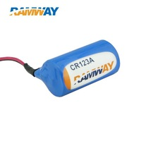 Lithium battery CR123a  LiMnO2 battery fault indicator battery