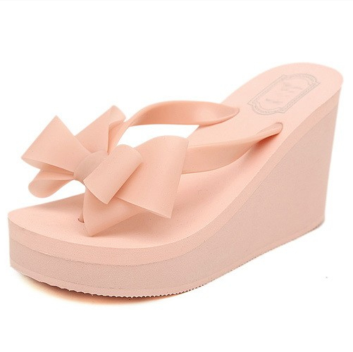 Flip Flops Wedge Heel