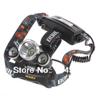 5000LM 3X CREE XML T6 LED Headlamp Headlight 4 Mode Head Light Lamp for Cycling Camping Traveling Hiking outdoor Sport