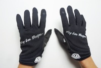 Bike Gloves Full Finger Troy Lee Designs Cycling TLD XC Gloves MTB MX  DH Cycle Gloves Black Size: M/L/XL