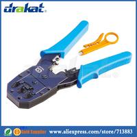 Modular Plug Crimping Tool RJ45 RJ11 RJ12 with Stripper TL-315