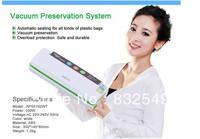 Free shipping aperts household vacuum food sealing machine/vacuum sealer APS5192WT Free 2rolls bags),High Quality Fresh Keeping
