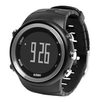 Battery ezon casual table t023 watch waterproof outside sport fashion running black