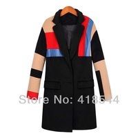 Free Shipping new fashion women's winter coat Noble generous Windproof jackets Classic Brands Outdoor Woolen coat for Women