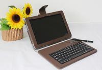 Original Leather case for Livefan F1 tablet PC wireless keyboard for Livefan F1 tablet pc free shipping