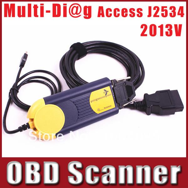 Multidiag Multi Diag Multi-Diag Access J2534 Interface OBD2 Device