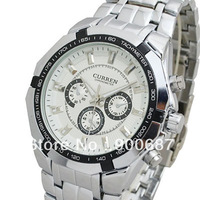 Lowest Price CURREN Brand Men Military Watch Fashion Men Quartz Adjustable men Sports Watches Full Steel Men Watch Casual Reloj