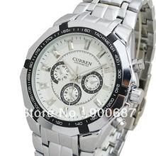 Menores homens ajustáveis Preço CURREN Marca Men Watch Militar Moda Masculina de quartzo relógios desportivos Aço completa Men Watch Casual Reloj(China (Mainland))