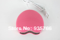 Free Shipping 3W LED Nail UV Lamp Nail Art Gel Dryer Light  Pink Heart Shaped Fast Drying