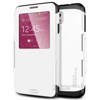 Luxury Slim Armor View Smart SPIGEN SGP Case For Samsung Galaxy Note 3 III N9000 Hard Flip Cover YXF03697