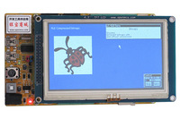 "Development board GoldDragon407+4.3"" TFT module+JLINK V8 ARM 32-bit Cortex -M4 CPU with FPU"
