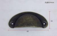 30PCS Steel Metal Kitchen Cabinets Furniture Wardrobe Medicine Classic Antique bronze Handle Vintage Drawer Knobs Pulls