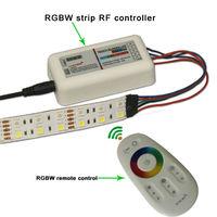 Double line led RGBW  Strip 5m/roll 120 leds/m 2.4G Remote Control IP44  (Strip with 2.4G remote control set)