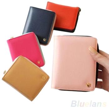 Женщины Card Coin MONEY holder Wallet Кожа PU является высокотехнологичным и высокосортным ...