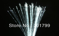 1*1.0mm(1500m/roll)Side glow sparkle fiber optic waterfall curtain;in clear PVC cover