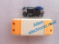 LM2596S LM2596 DC-DC voltage module 3A adjustable step-down voltage regulator module 5pcs+ lm2596 module shell (samll Car shape)