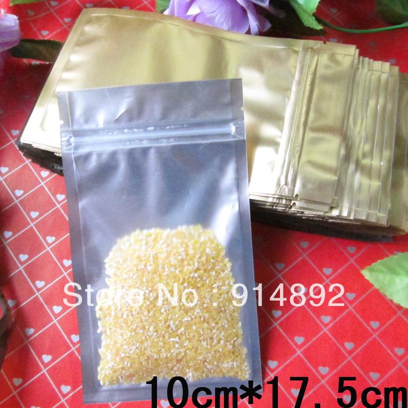 Упаковочные пакеты 10 * 17,5 ziplock 10cm * 17.5cm