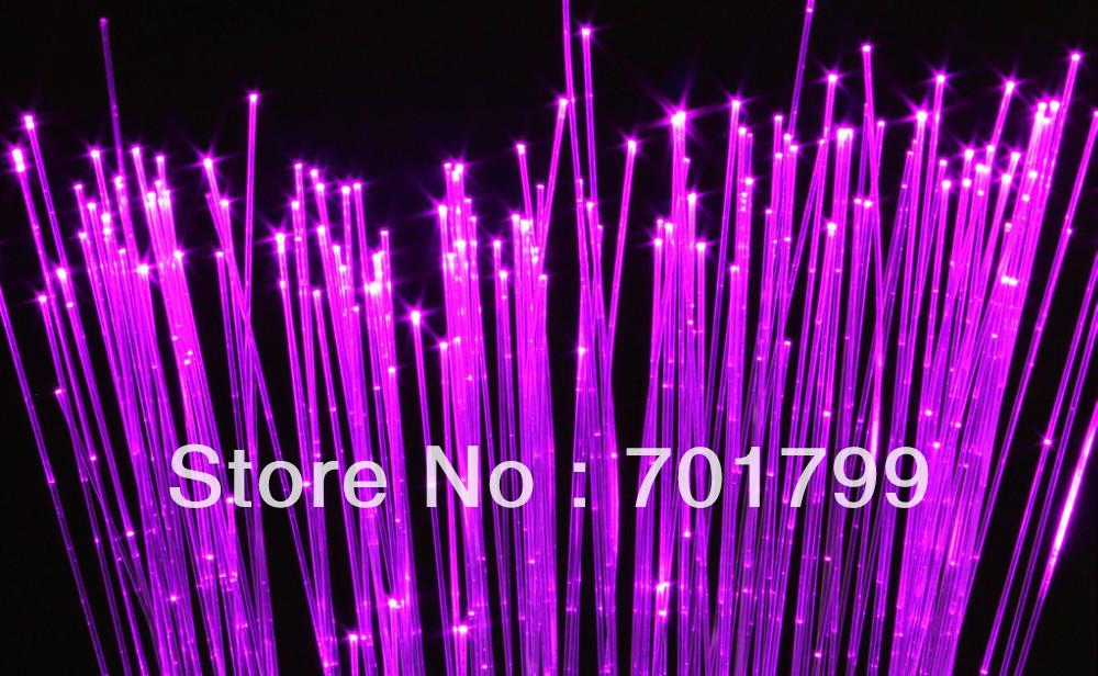 3*1.0mm(500m/rotolo) sparkle in fibra ottica lato bagliore tenda cascata; copertura in pvc trasparente